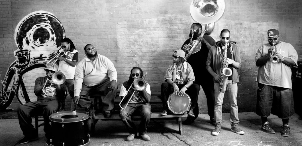 Hot 8 Brass Band to bring New Orleans to the UK