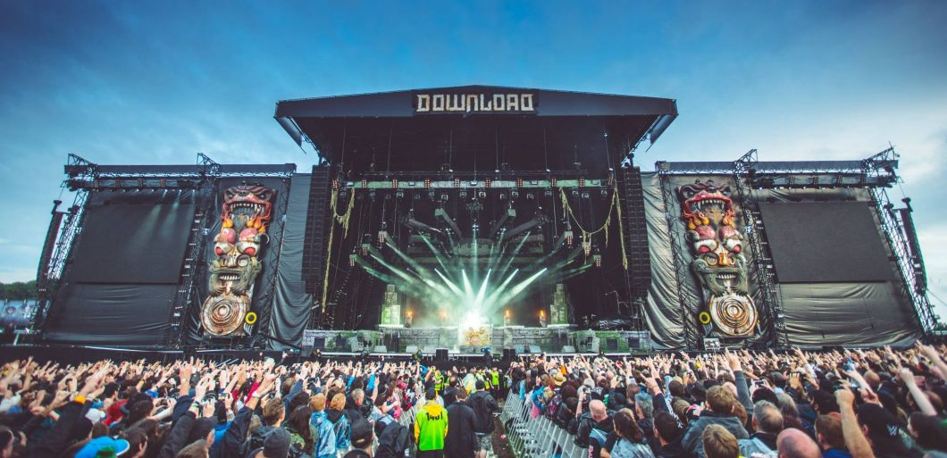 Huge headliners announced for Download Festival