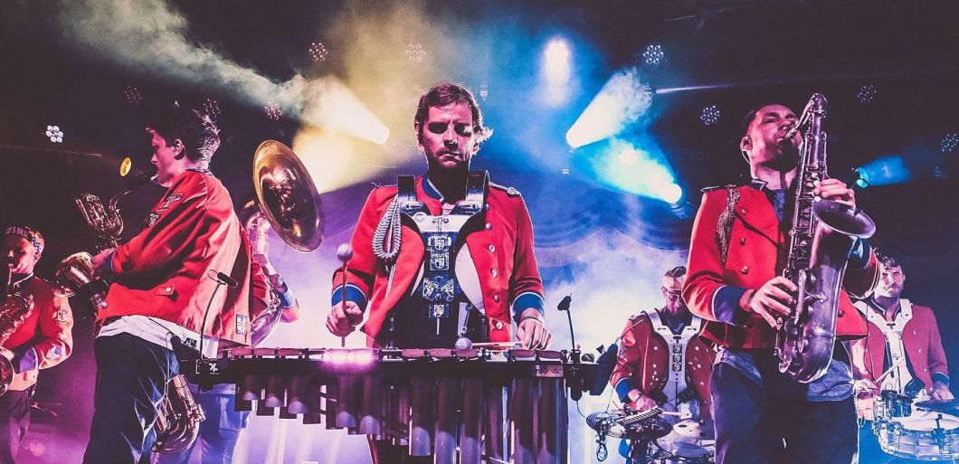 Techno marching band Meute announce 5 UK dates in April 2020