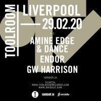 Endor, Amine Edge & Dance head to Toolroom Liverpool!