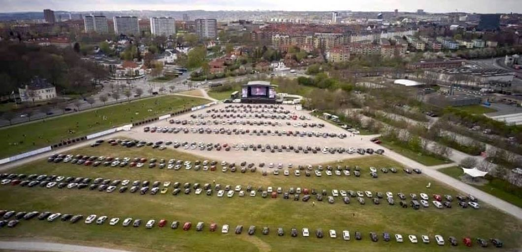 Bike-in shows could become the new drive-in shows, apparently