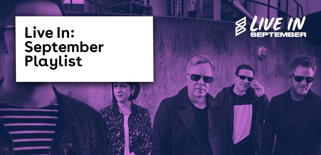 Live in September: Discover bands and solo artists performing live this month