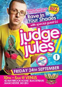 Judge Jools Raves in his Shades @ Venus, Manchester